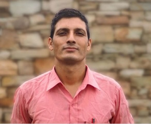 Nepali teacher is a finalist in the Global Teacher Award