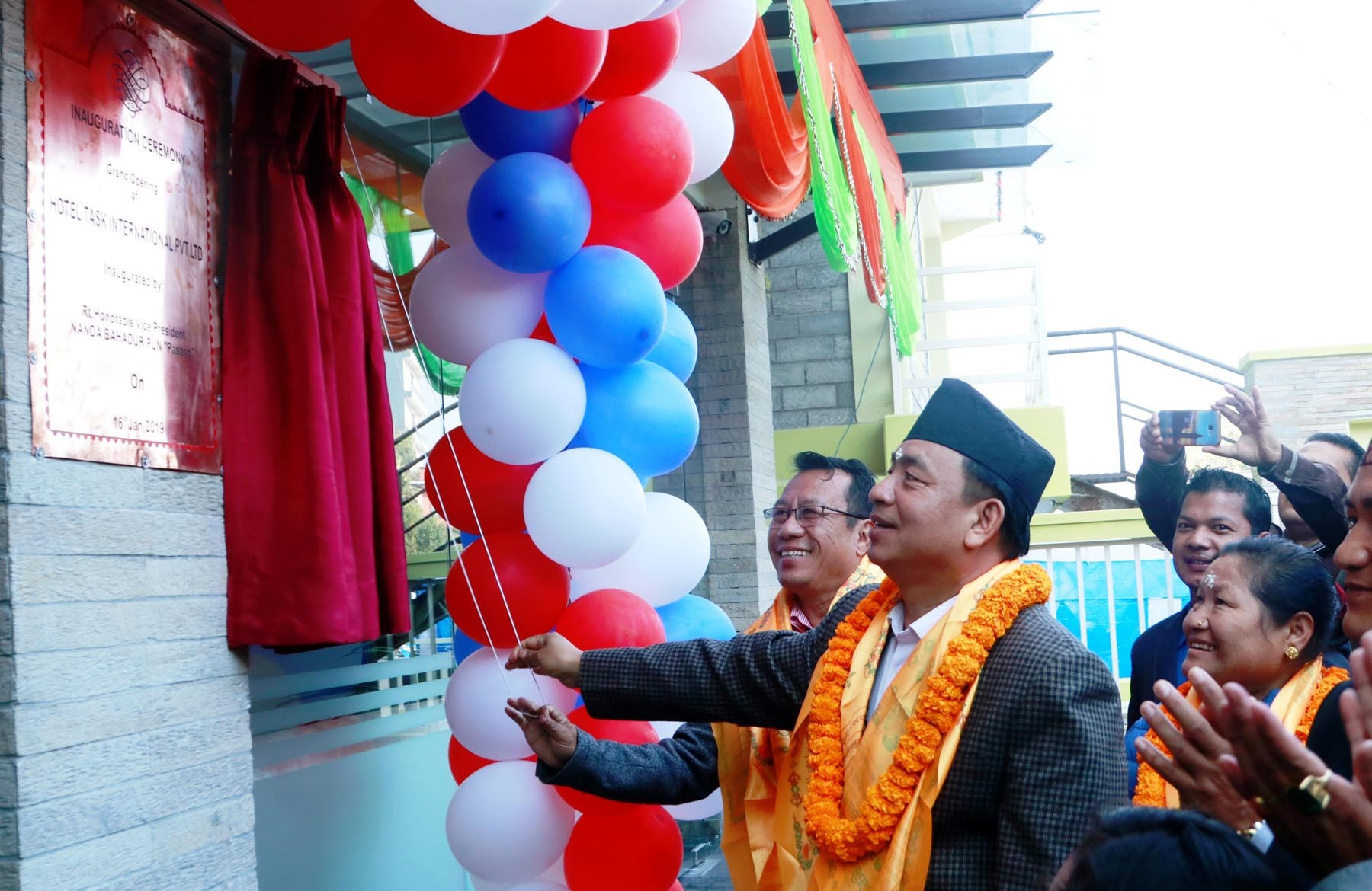 Vice President Pun inaugurates new luxury hotel in Pokhara