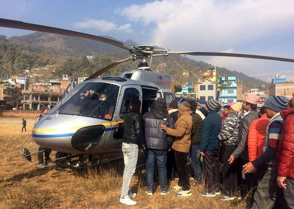Five killed in Parbat bus mishap identified