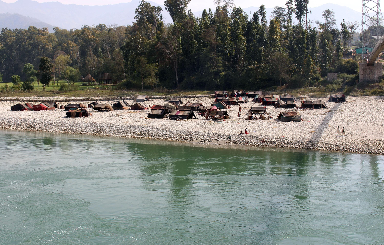 Raute Community near Bheri River at Surkhet