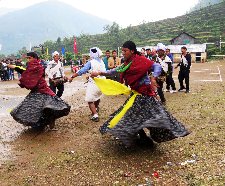 Sorathi Dance : Dance of Magar community of Baglung District
