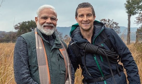 'Man vs Wild' with Bear Grylls and Indian Prime Minister Modi creates history