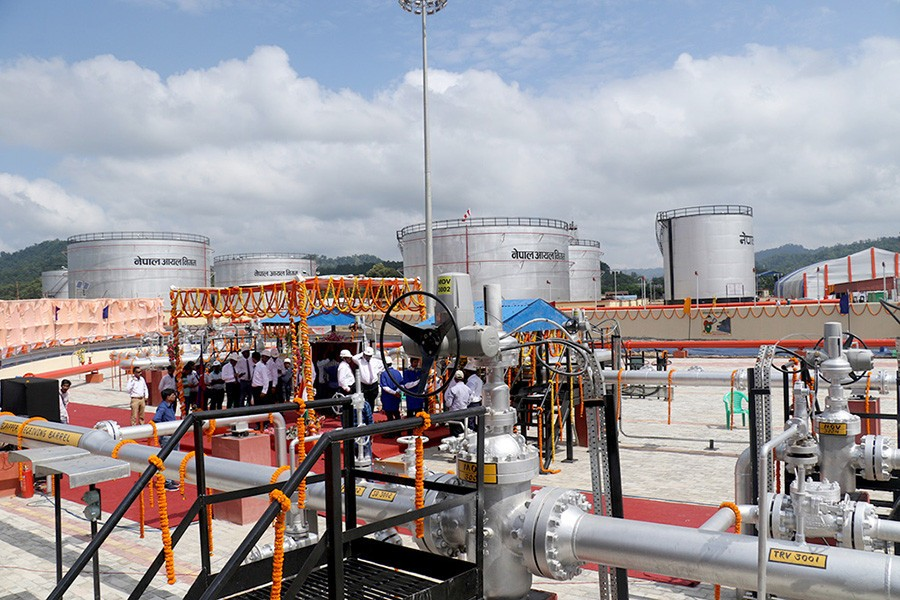 PM Oli, Indian PM Modi jointly inaugurate interstate petroleum pipeline project
