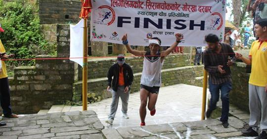 Gurung Wins Ligligkot Open Marathon Championship in Gorkha