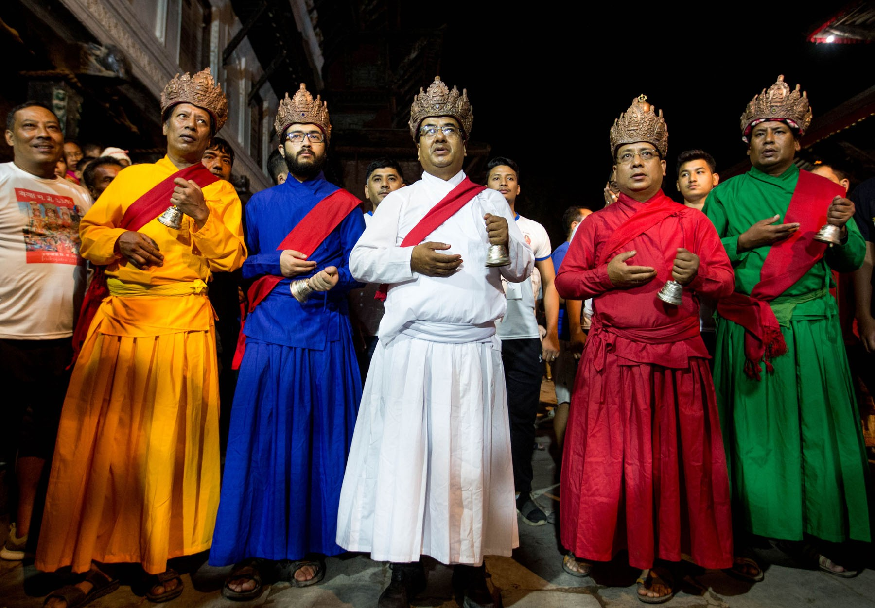 Indra Jatra Festival Celebration
