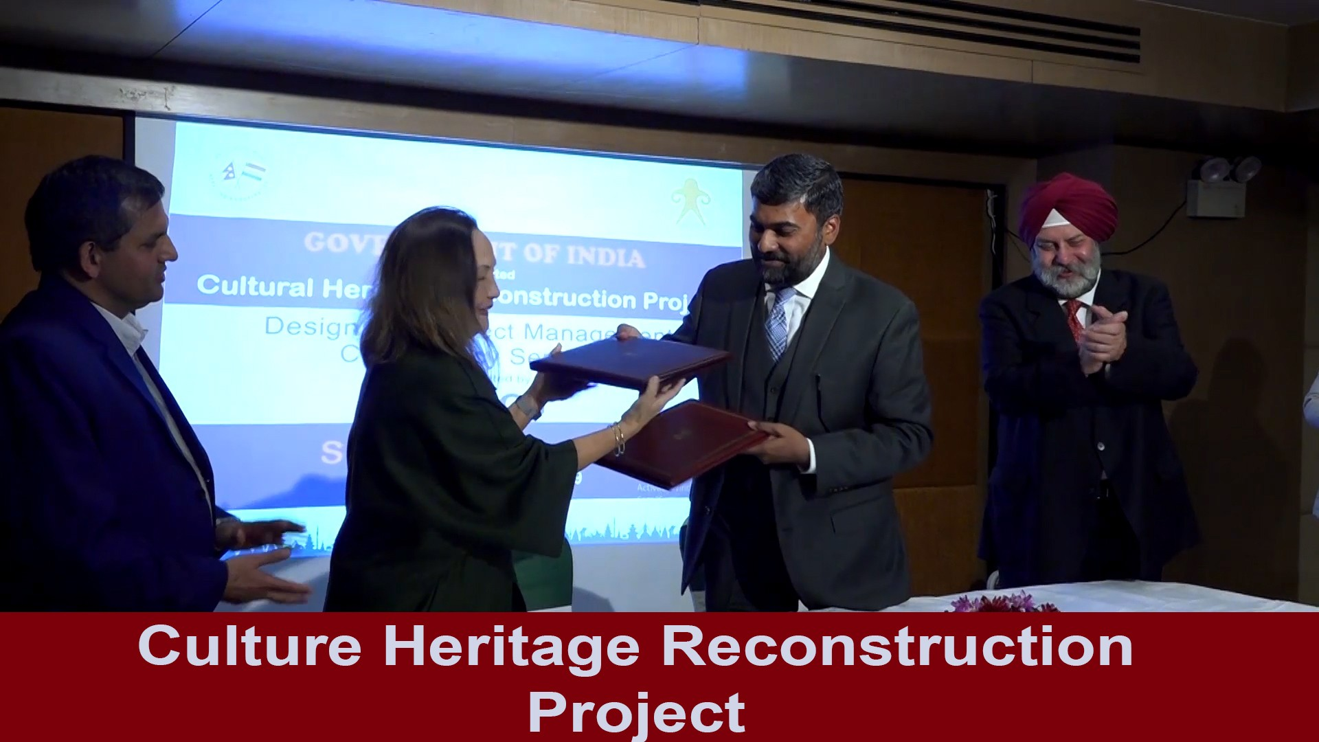 India assist the protection of heritage