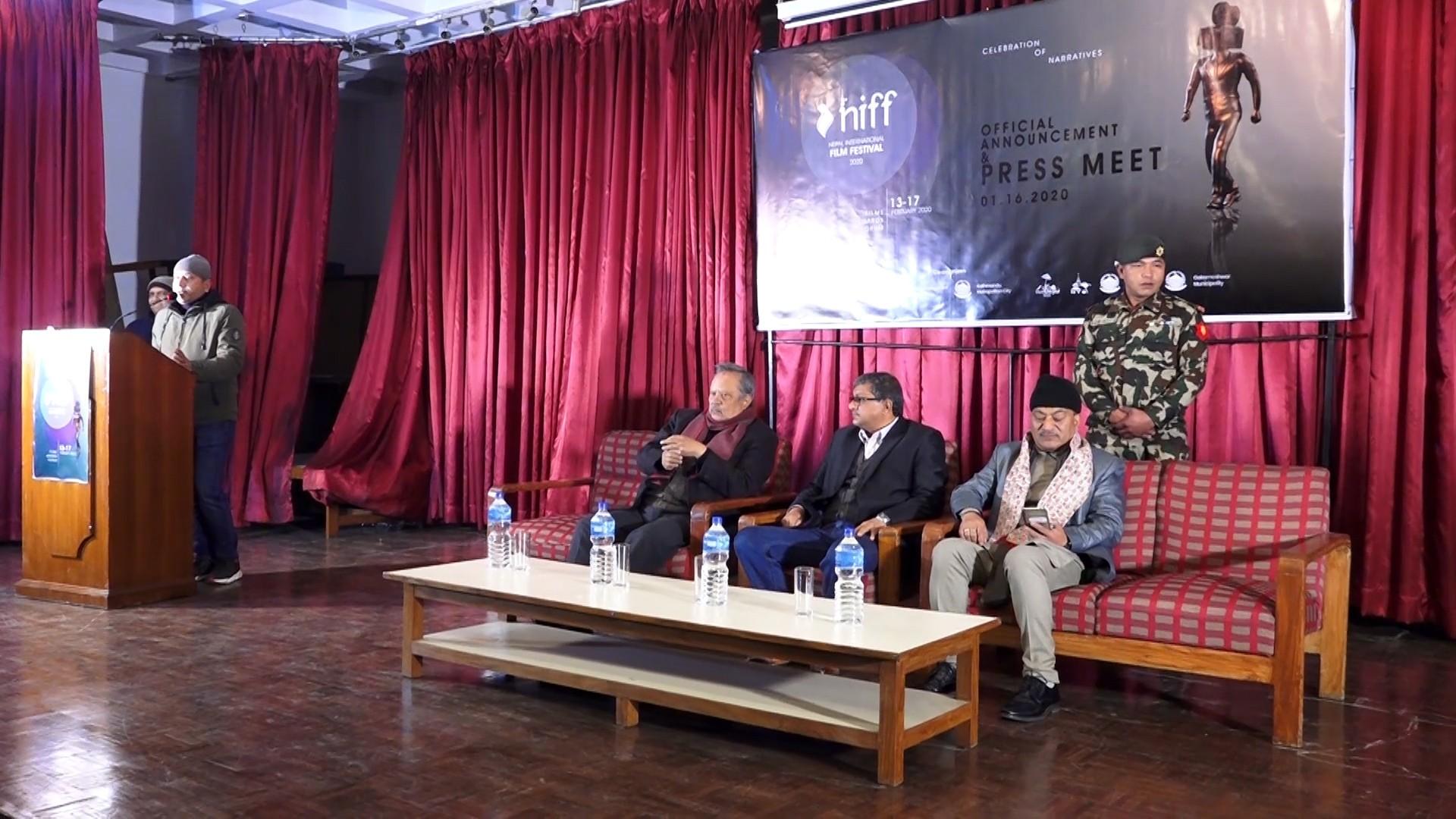 Int'l film festival from Feb 13