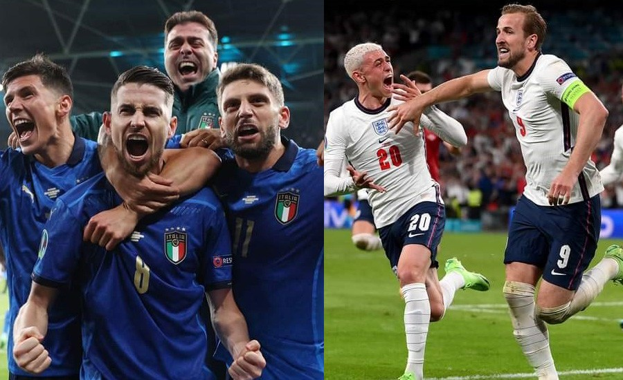 Italy and England facing off for Euro Cup title on Monday
