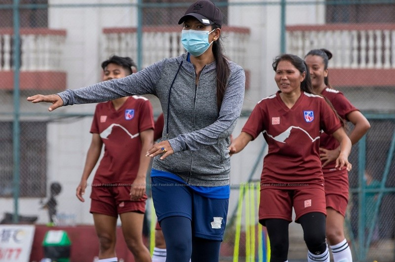 Three assistant coaches appointed for National Women Football team